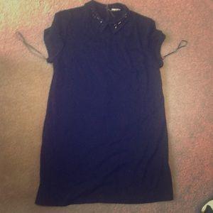 Black straight Maison Jules dress